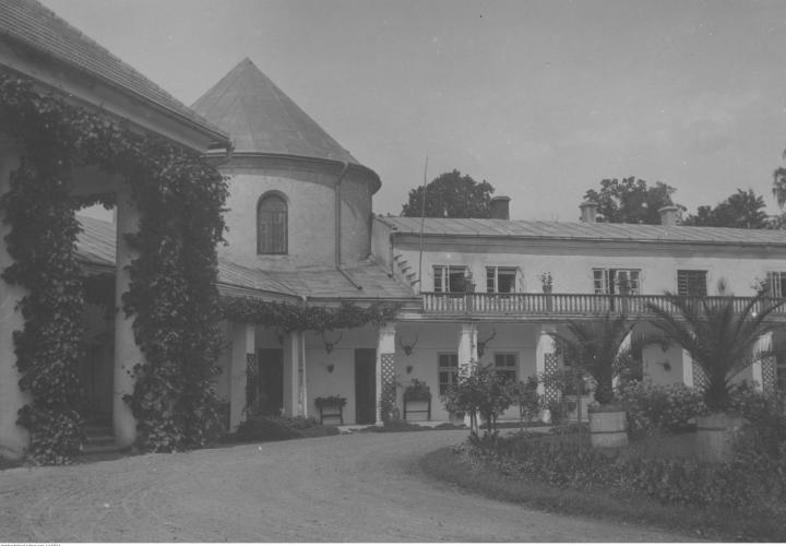 Zamek w Lesku