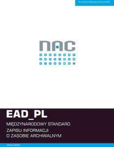 EAD_PL Międzynarodowy standard opisu
