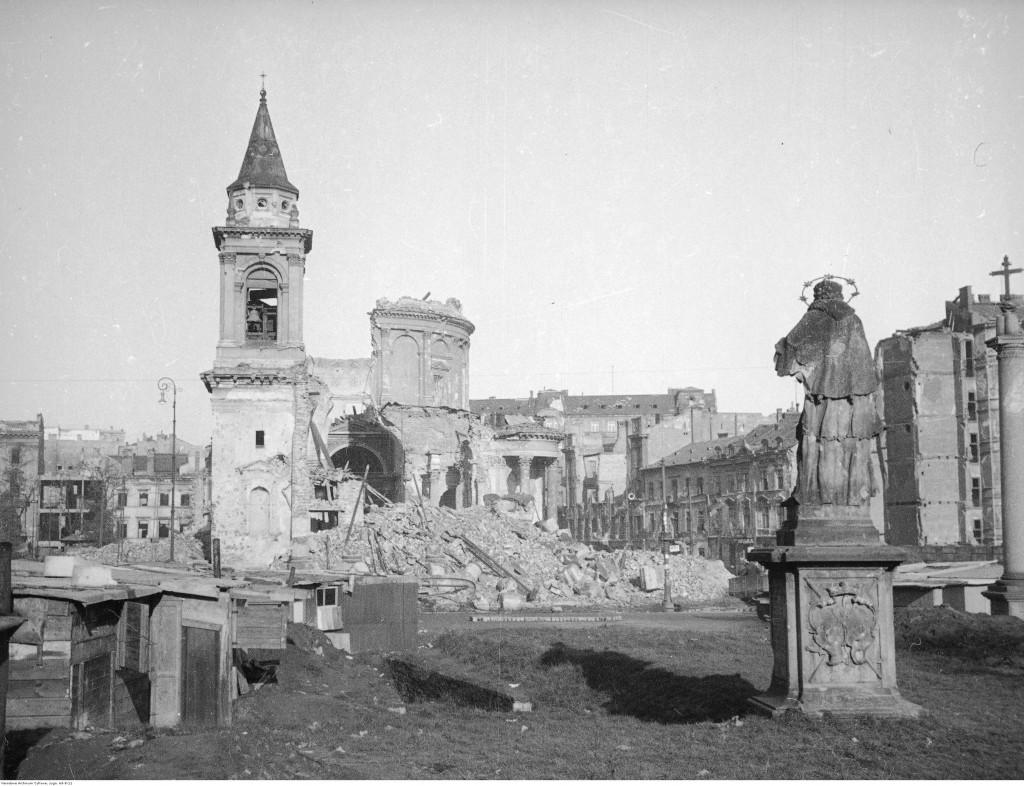 fot. St. Doktorowicz-Hrebnicki, Warszawa 1945