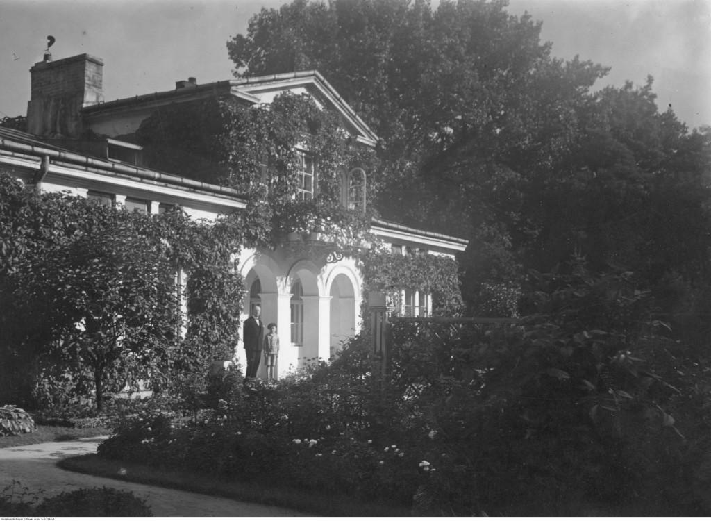 Ogród Saski w Warszawie. Domek ogrodnika, 1926