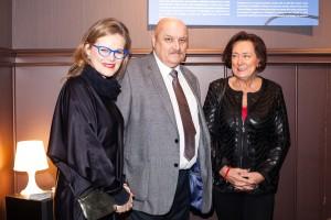 Dyrektor Marianna Otmianowska z wnukiem Henryka Poddębskiego Krzystofem Kukiełą oraz małzonką Pana Kukieły, fot. Kamila Rokicka
